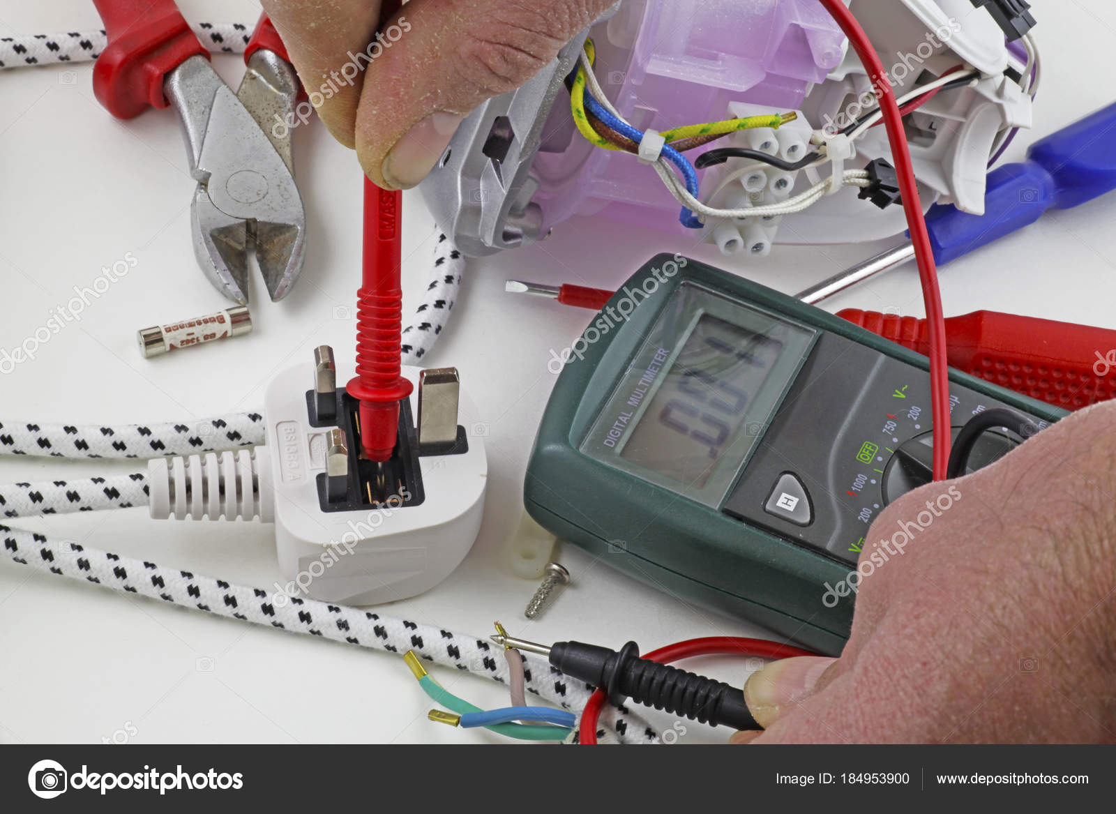 Continuity Testing Electrician Testing Fault Live Cable