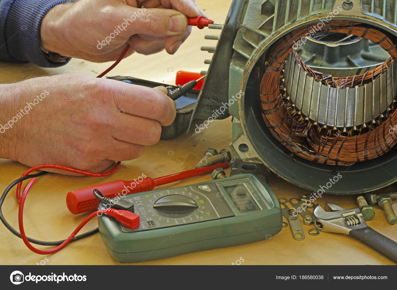 How to check the motor winding resistance 4k wiki for How to check 3 phase motor