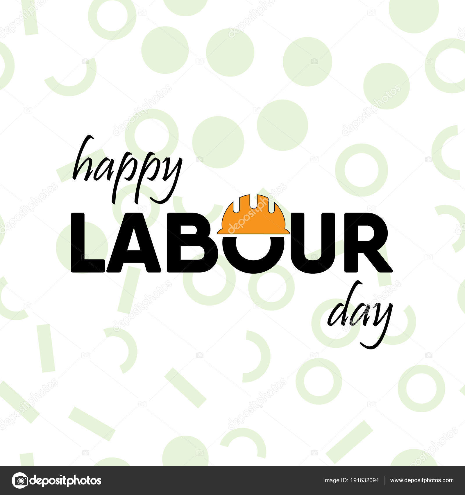 Happy labour day greeting card vector illustration stock vector happy labour day greeting card vector illustration stock vector m4hsunfo