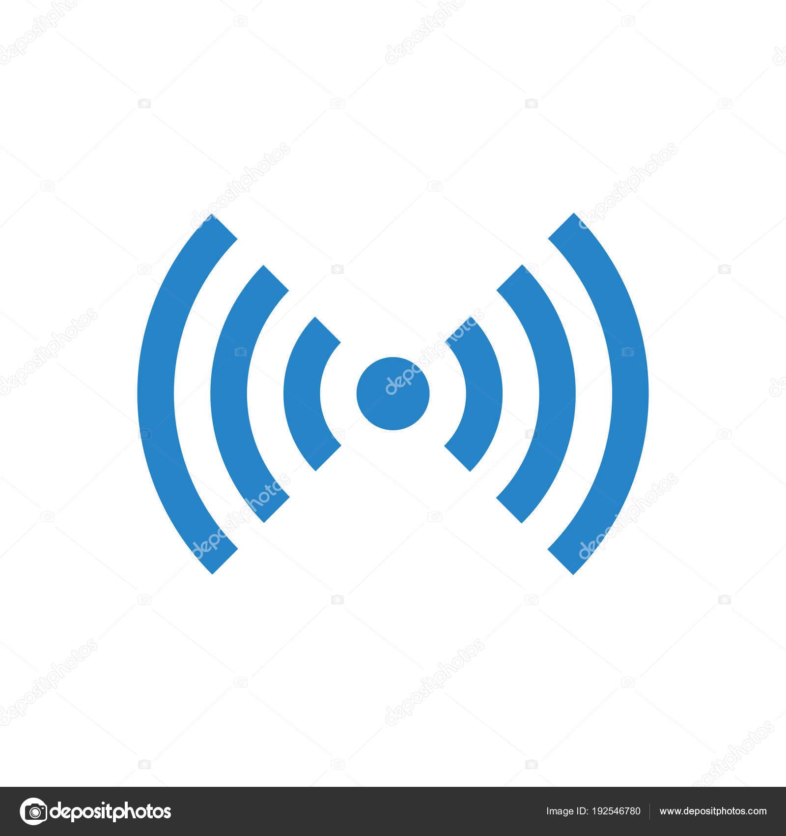 Vector Wifi Or Wireless Network Symbol Free Wifi Stock Vector