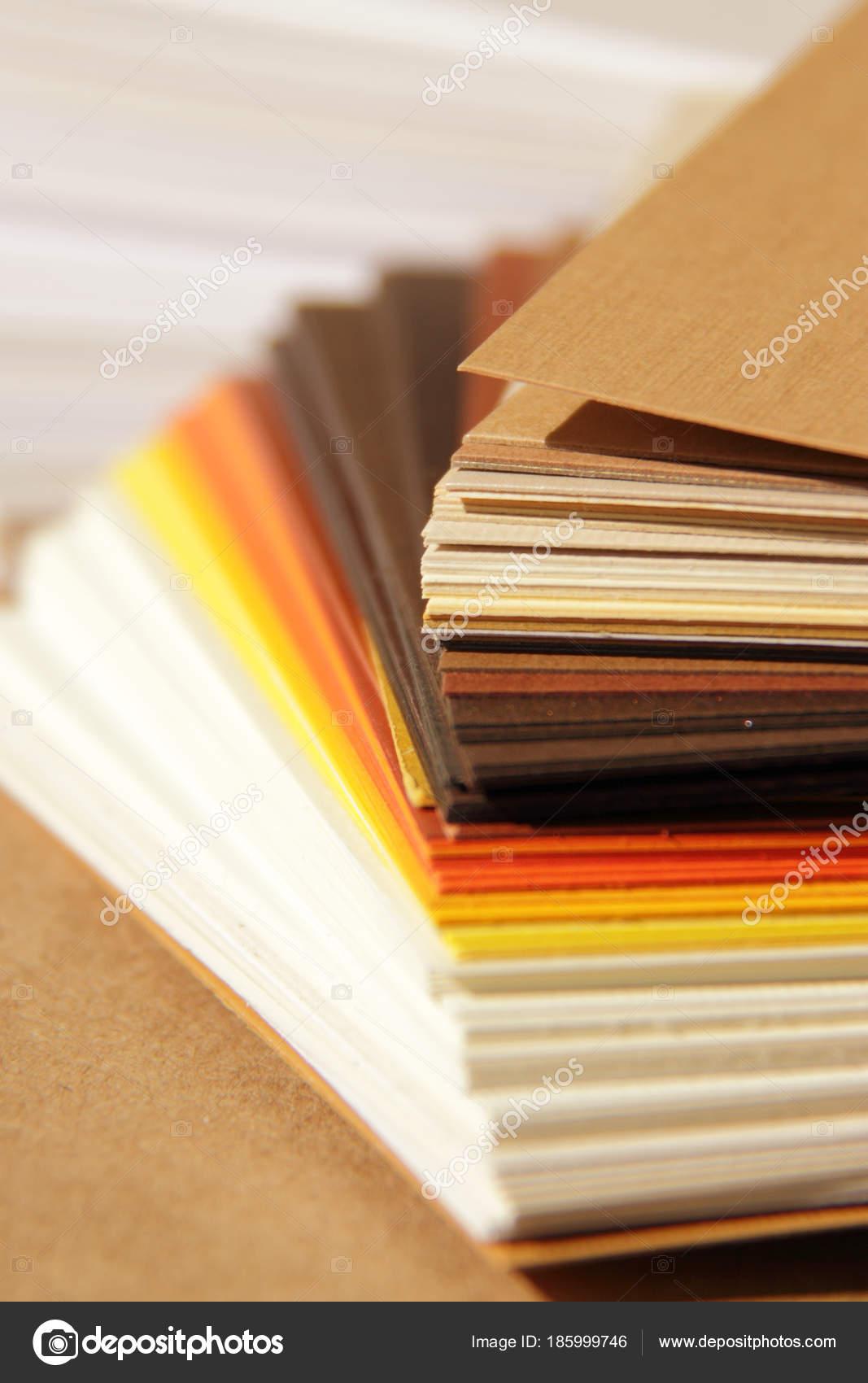 colorful paper samples variation stock photo boaphotostudio