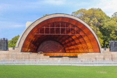 Hatch Memorial Shell in Boston, Massachusetts