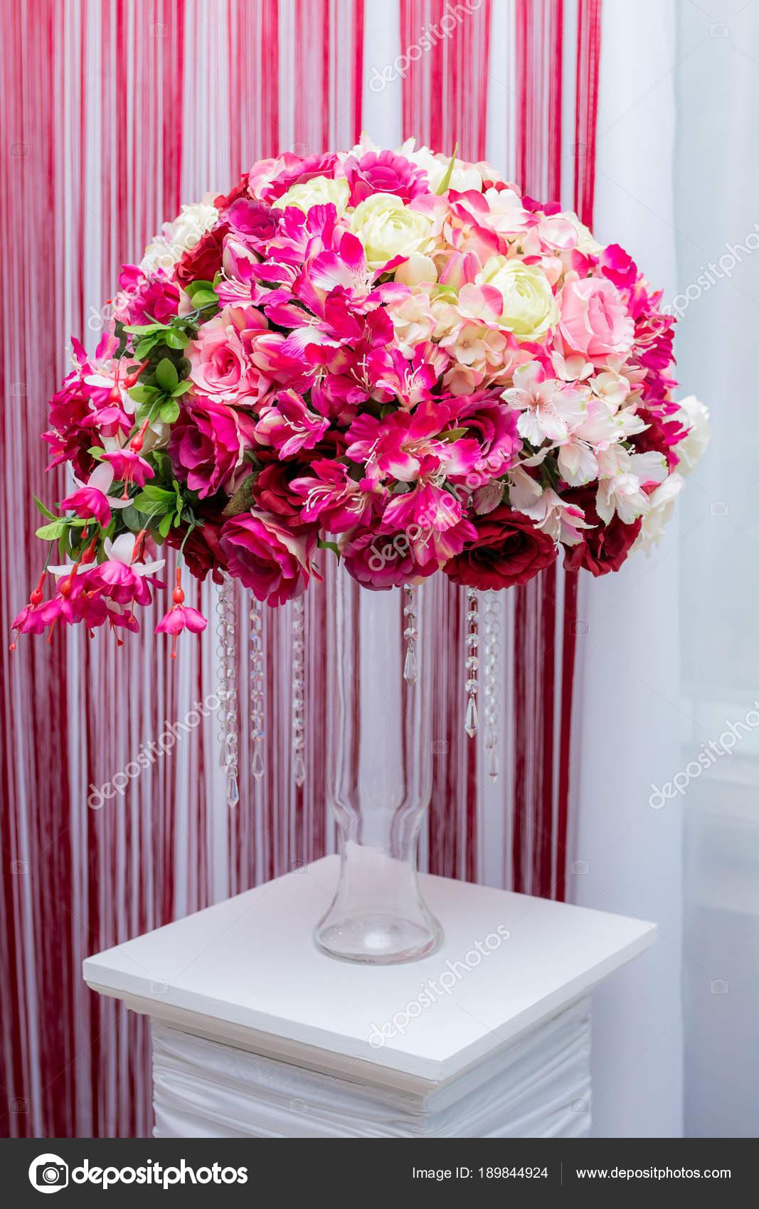 wedding decor ball of flowers — Stock Photo © DenysVynnyk #189844924