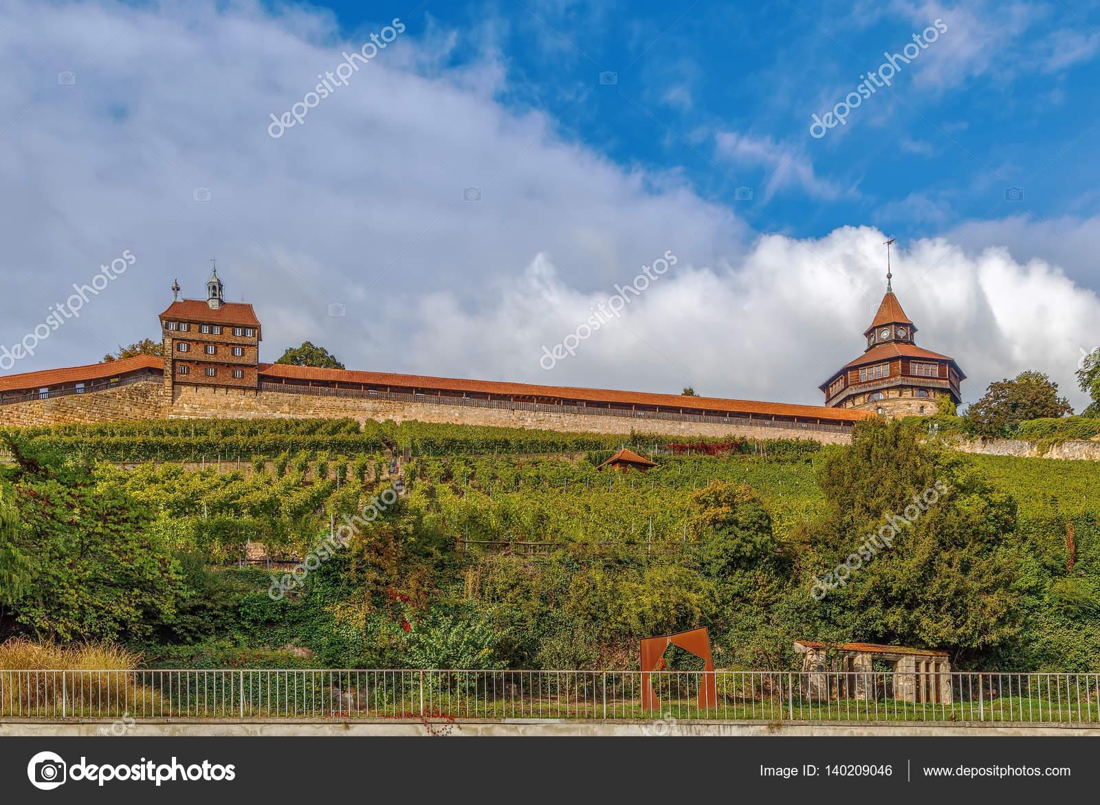 Esslingen Castle Burg Germany Stockfoto Borisb17 140209046