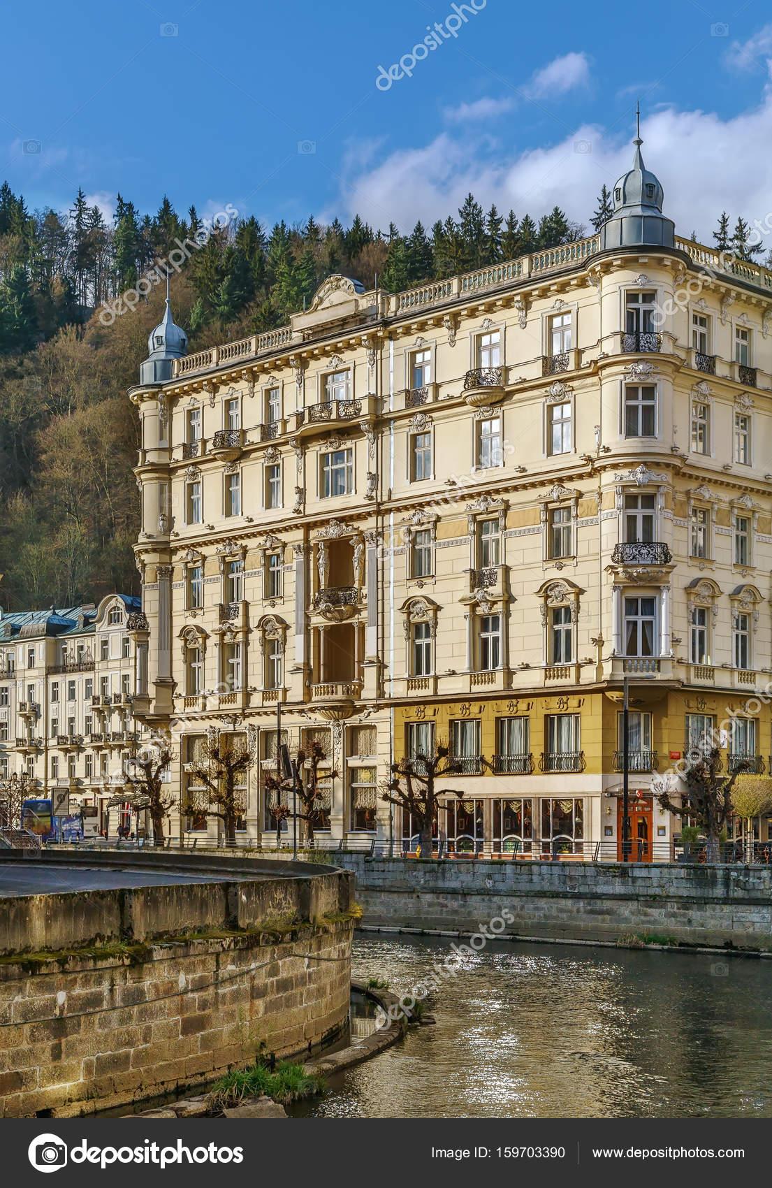 Grandhotel Pupp Karlovy Vary Czech Republic Stock Photo Image By Borisb17 159703390