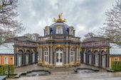 Fotografie Neuer Palast in der Eremitage, Bayreuth, Deutschland