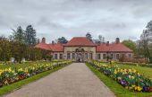 Fotografie Altes Schloss in der Eremitage, Bayreuth, Deutschland