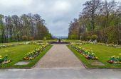 Fotografie Blumenbeet im Garten, Bayreuth, Deutschland