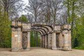Fotografie Ruine Theater im Garten, Bayreuth, Deutschland