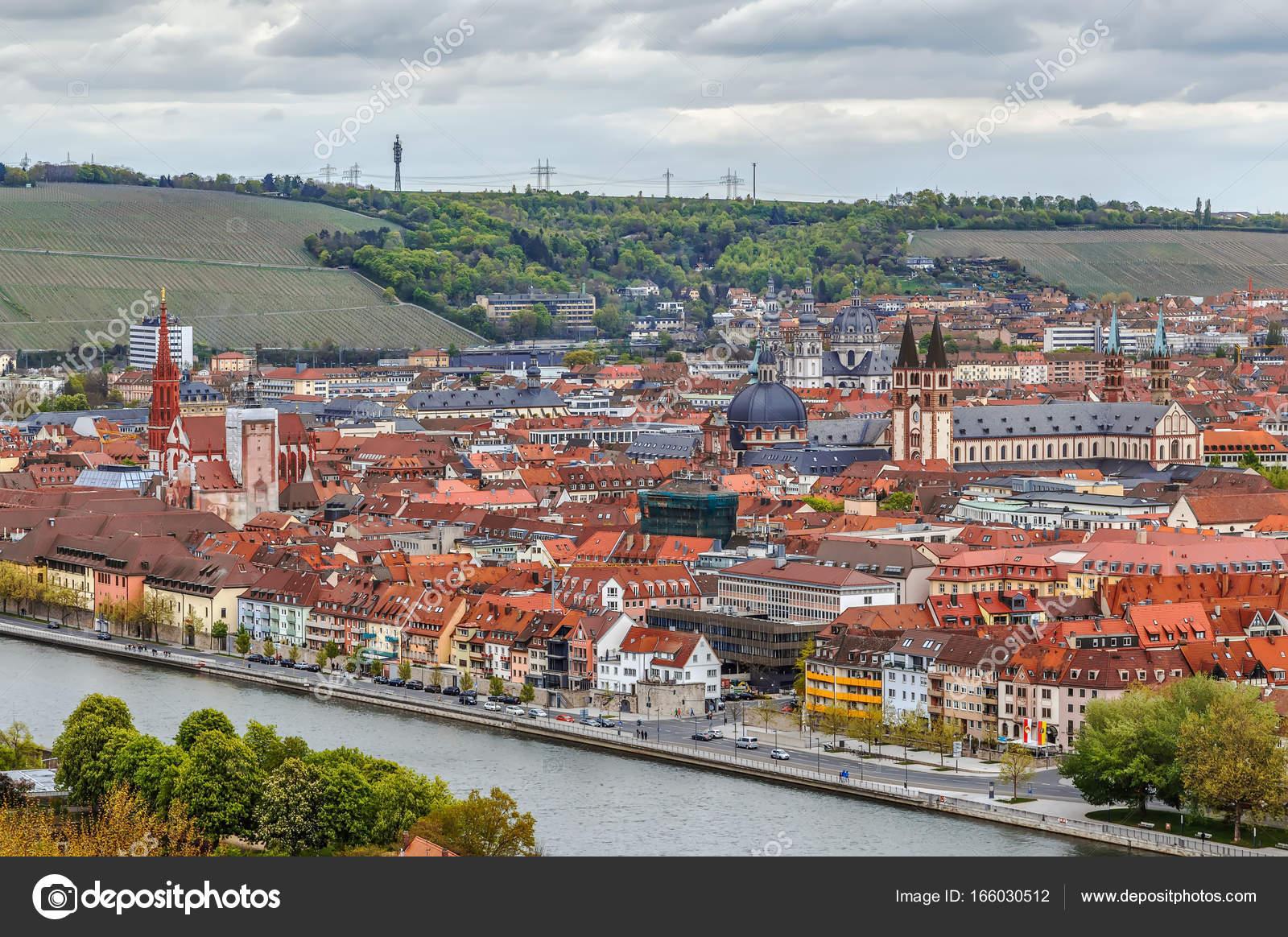 Blick auf Würzburg, Deutschland — Stockfoto © borisb17 #166030512