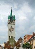 Fotografie Stadtturm, Straubing, Deutschland