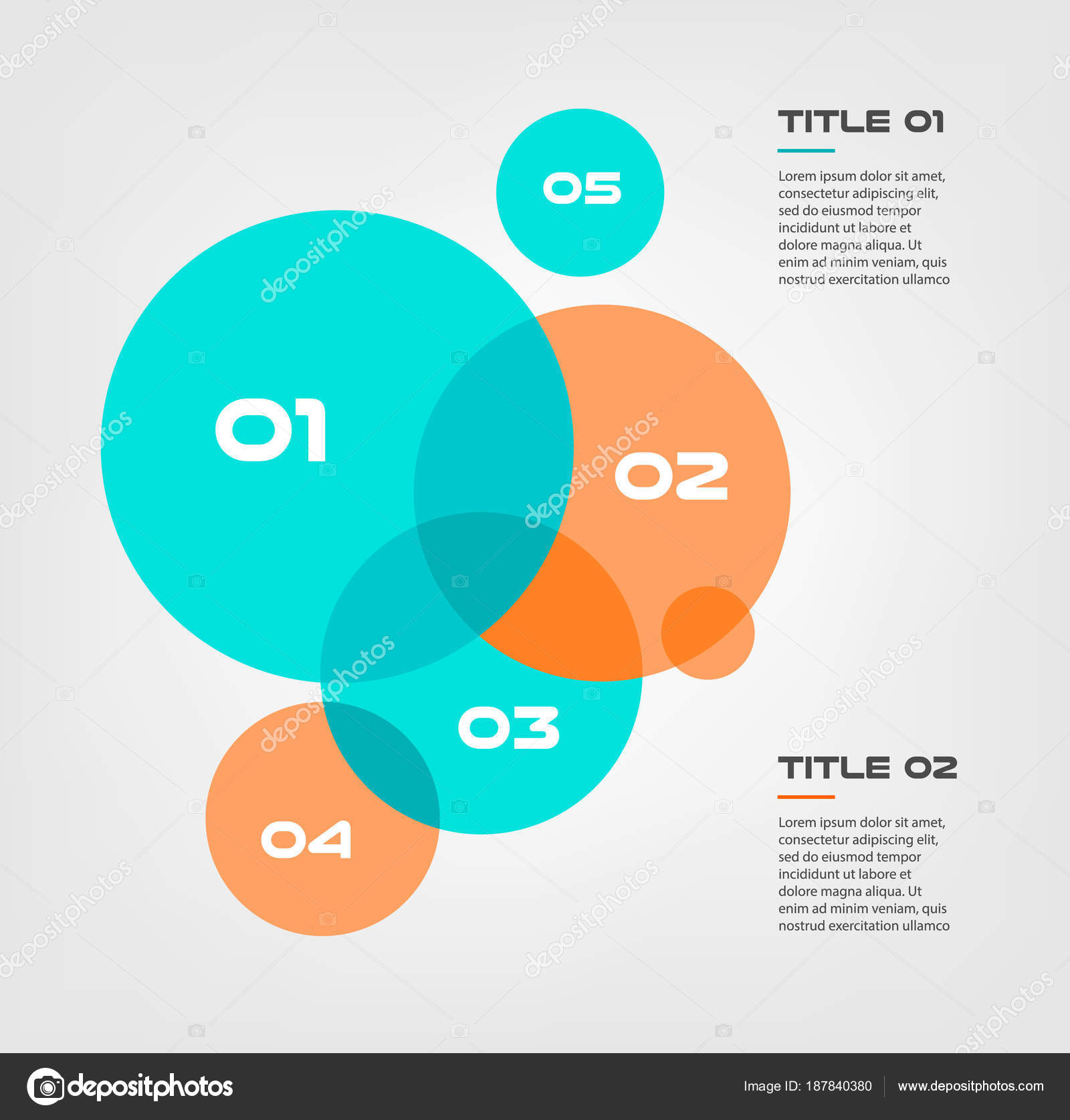 Bubble chart with elements venn diagram infographics for three bubble chart with elements venn diagram infographics for three circle design vector and marketing can be ccuart Images