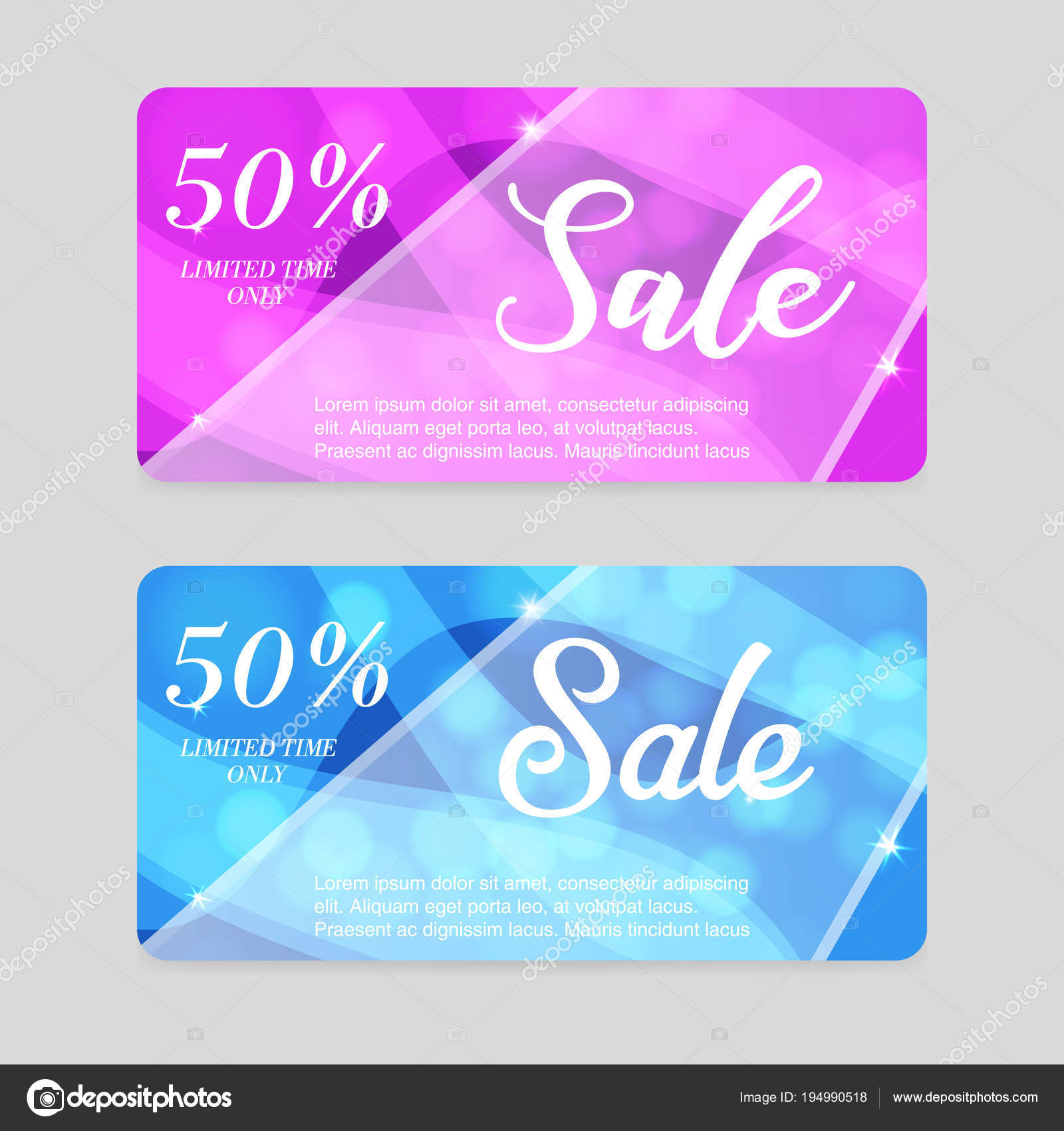 Gift Voucher Template Colorful With Your Business Designcertificate