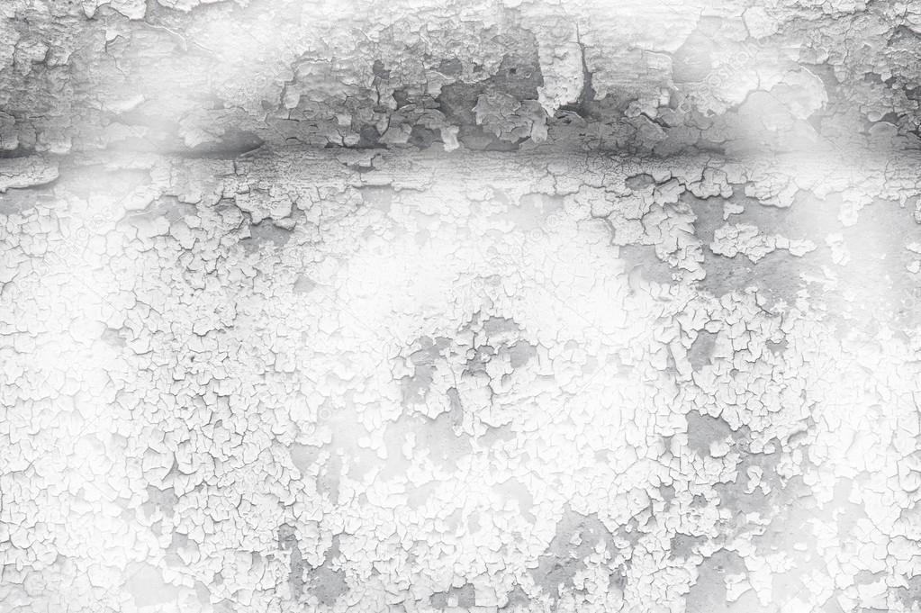 Texture, Motif, Arrière Plan. Vieille Peinture. Peinture De Mur En Béton  Fissuré, Peinture Abstraite Derrière Le Béton. Avec Ton Blanc Peinture  Su0027écaille Au ...
