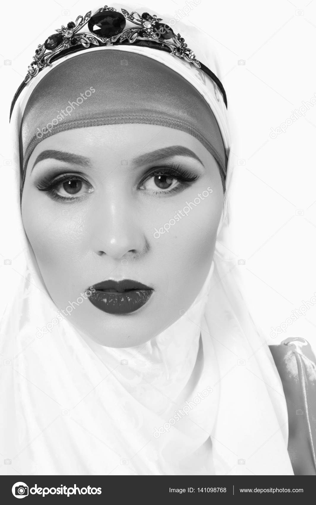 Hijab The Islamic Headscarf For Women And General Clothing Headpiece Stock Photo