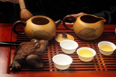Tea party on the Chinese traditions