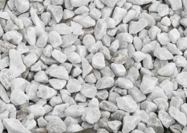 Texture, pattern, background. marble chips for landscaping pebbl