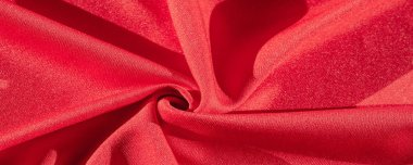 Texture, background, silk fabric red female shawl Convenient for