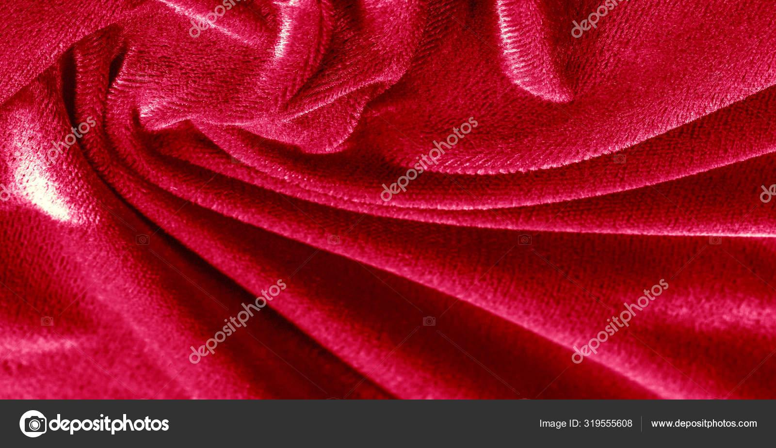 Pattern Texture Background Red Velvet Fabric Velvet Style P Stock Photo Image By C Ekina1 319555608
