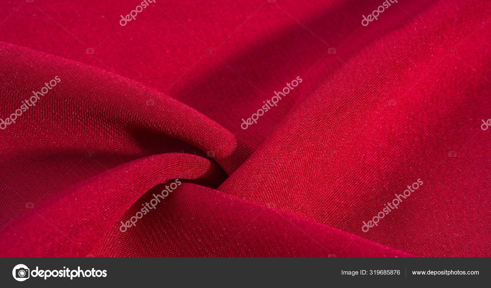 Textura Fundo Padrao Vermelho Crimson Silk Fabric Este Muito Stock Photo C Ekina1 319685876