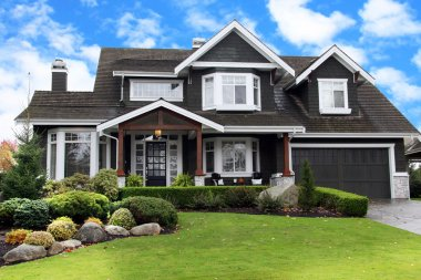Beautiful large house in Canada