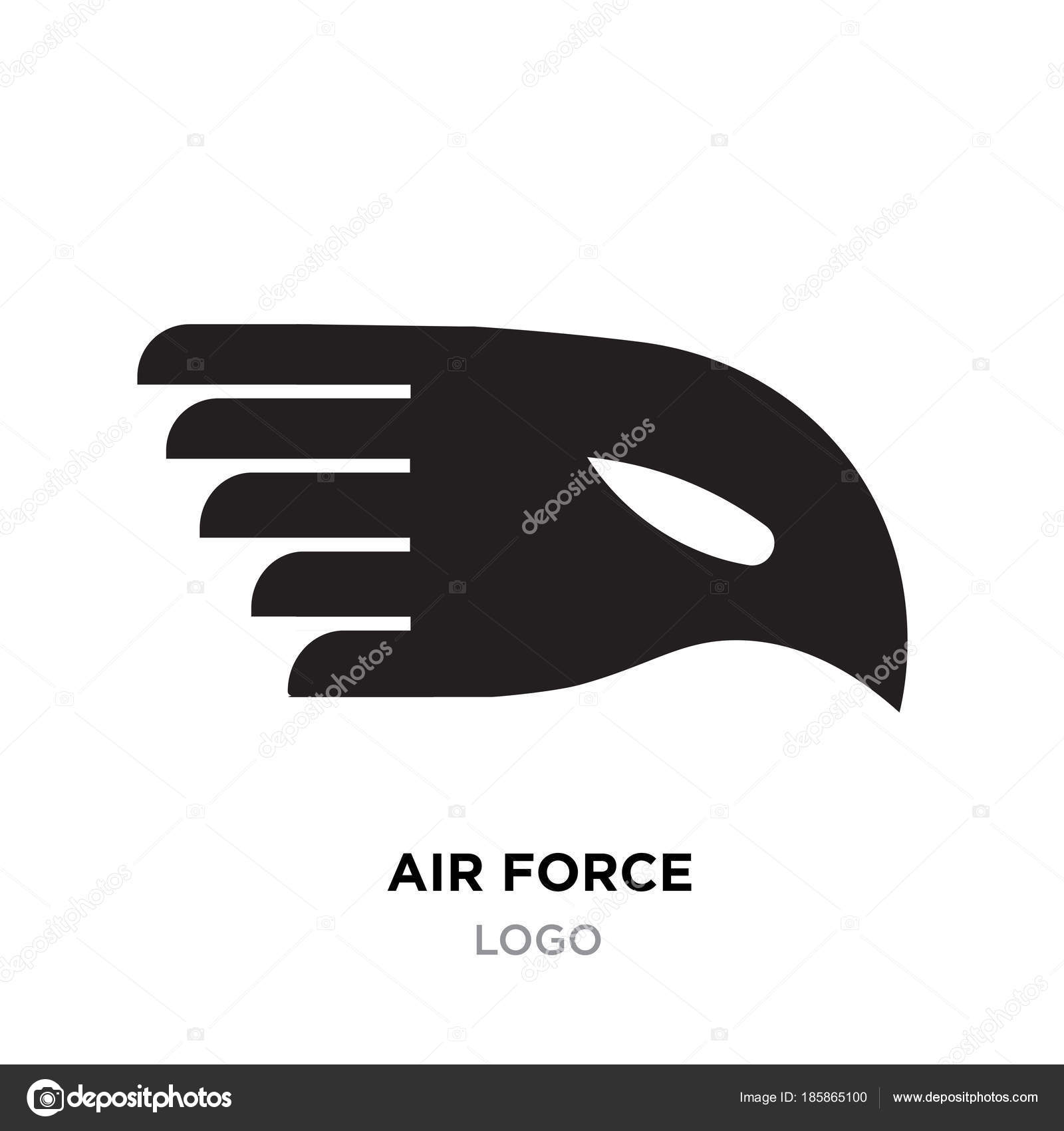 Air force logo images black eagle vector icon design isolated air force logo images black eagle vector icon design isolated stock vector voltagebd Images