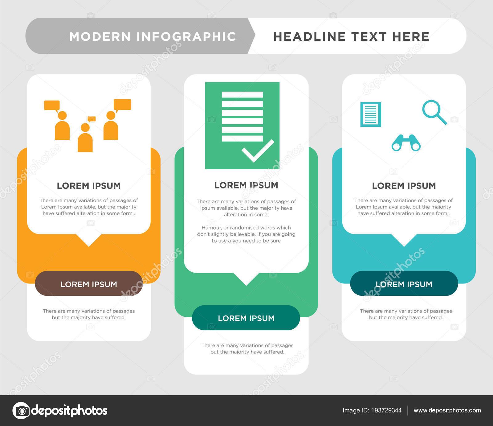 Tracker, Bestellformular, Diskussion Board Infografik — Stockvektor ...