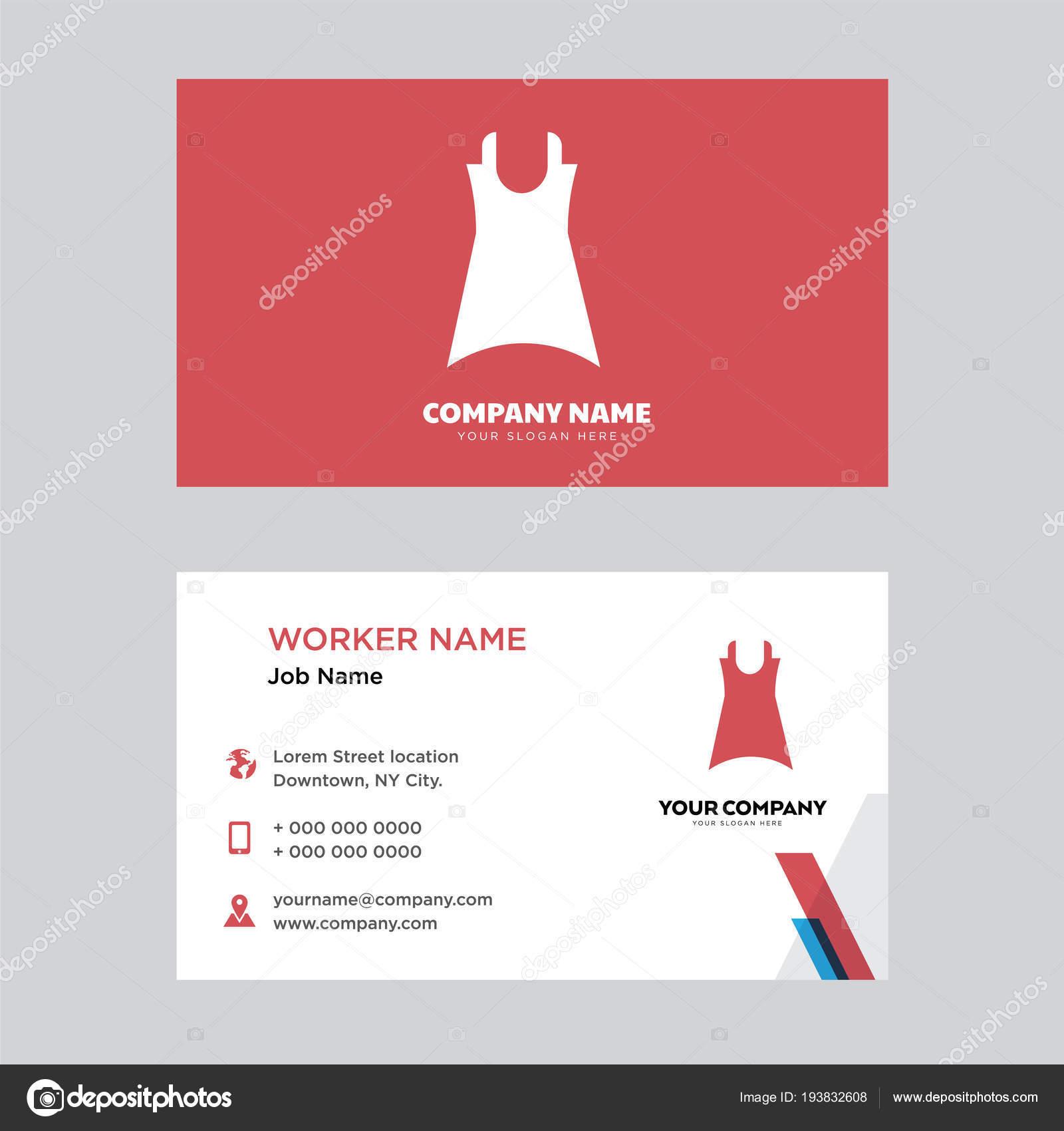 Female dress business card design stock vector sabinarahimova female dress business card design stock vector colourmoves