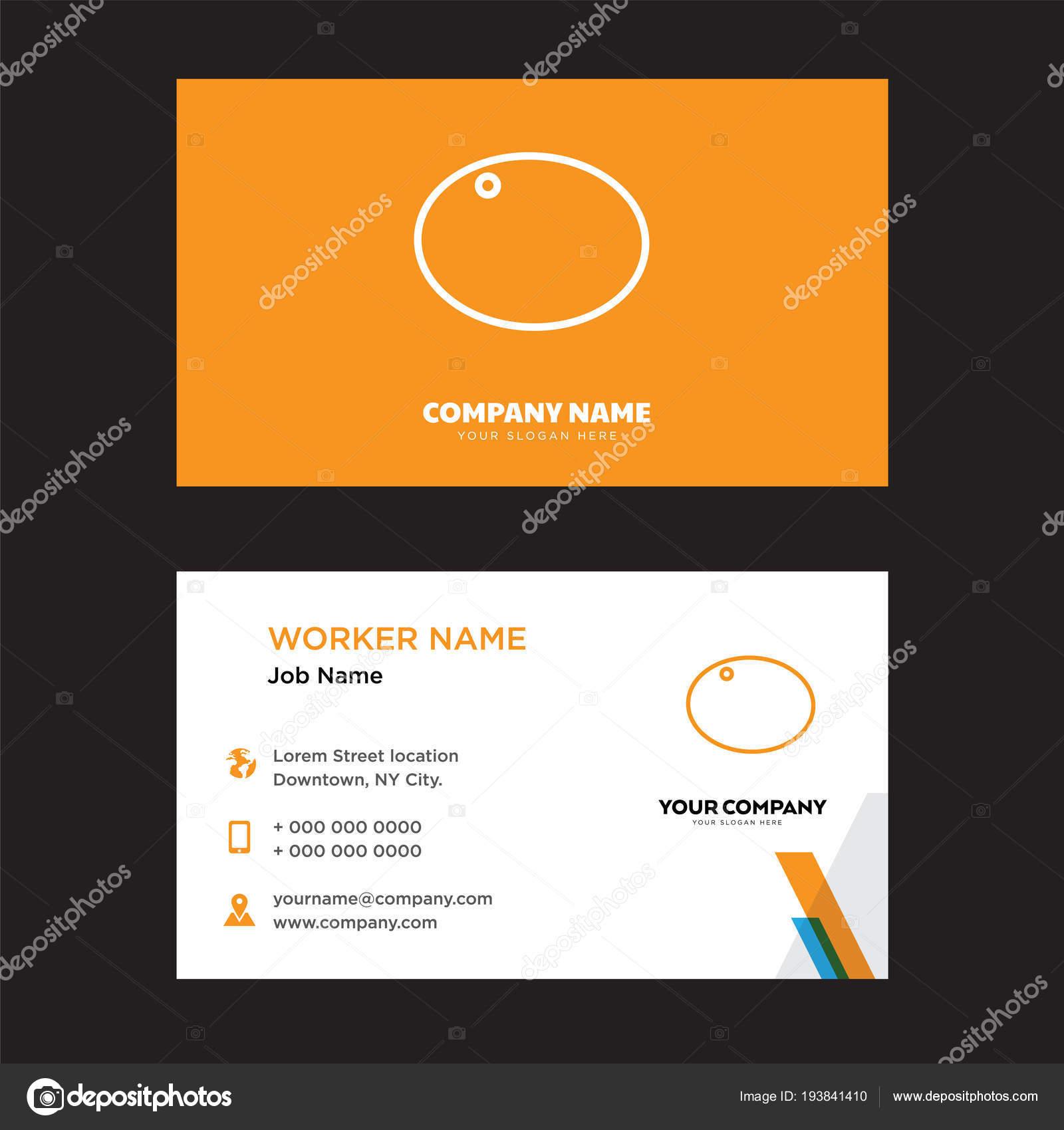 Sport Visitenkarten Design Stockvektor Vector Best