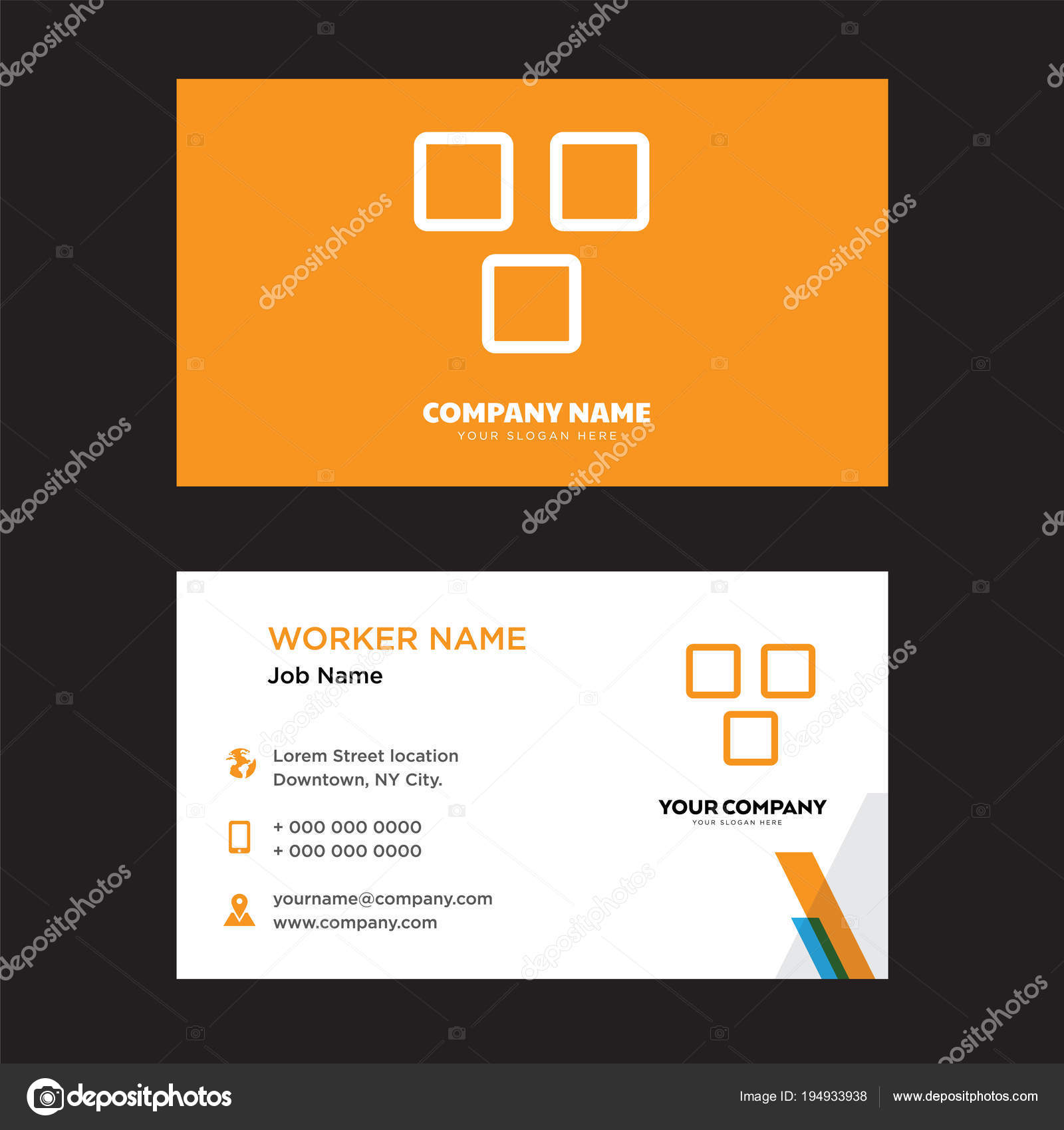 Apps business card design vetores de stock vectorbest 194933938 apps business card design template visiting for your company modern horizontal identity card vector vetor de vectorbest reheart Images