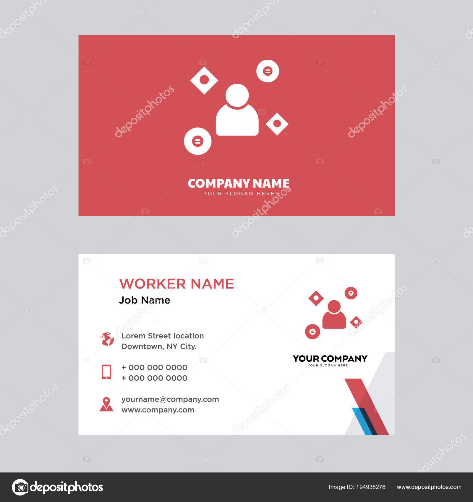 Mechanic Business Card Design Stock Vector Vectorbest 194938276
