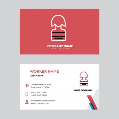 Candidate business card design