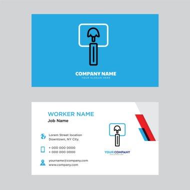 Vote business card design