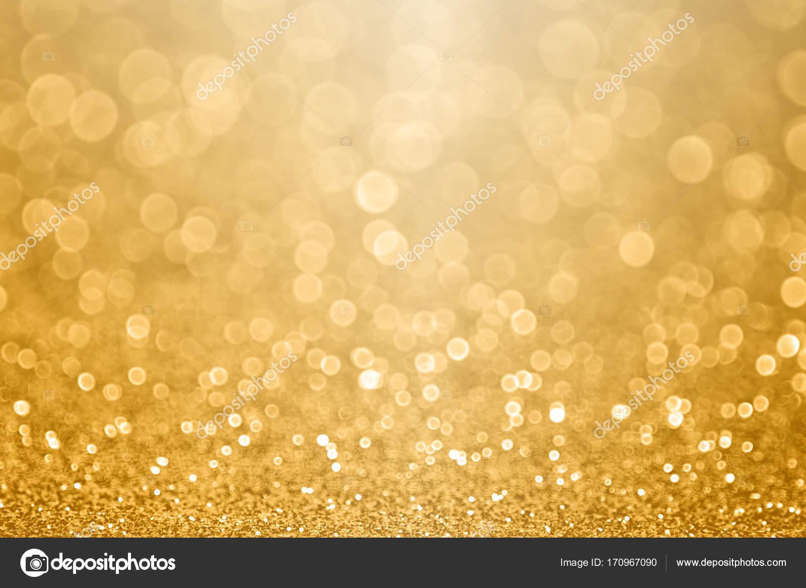 Gold Celebration Background For Anniversary New Year Eve