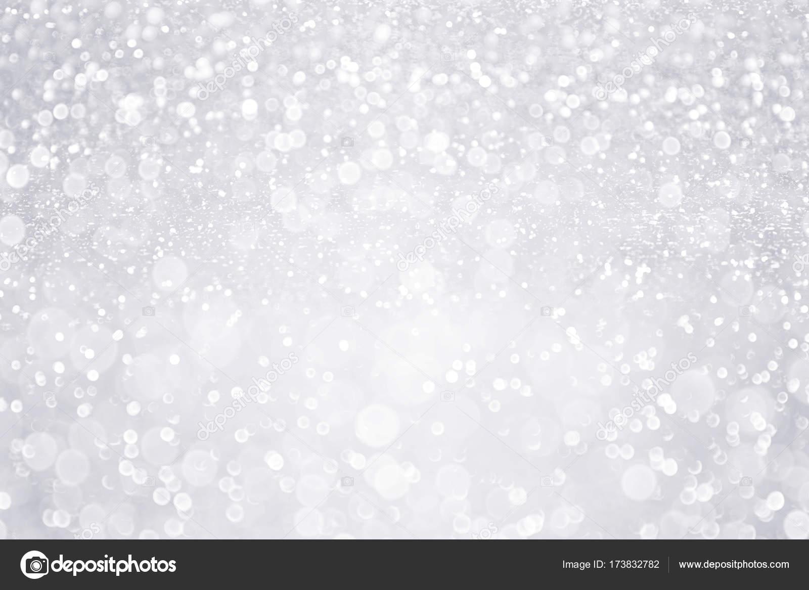 Silber Weisse Glitzer Hintergrund Fur Brautmoden Winter Oder