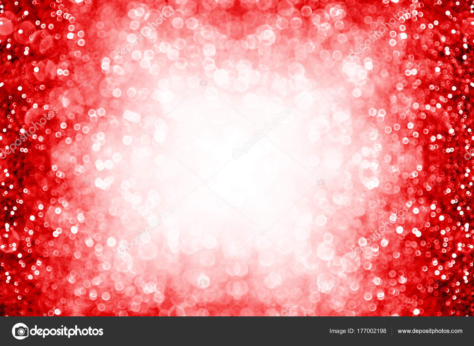 red sparkle background border for birthday new year christmas stock photo