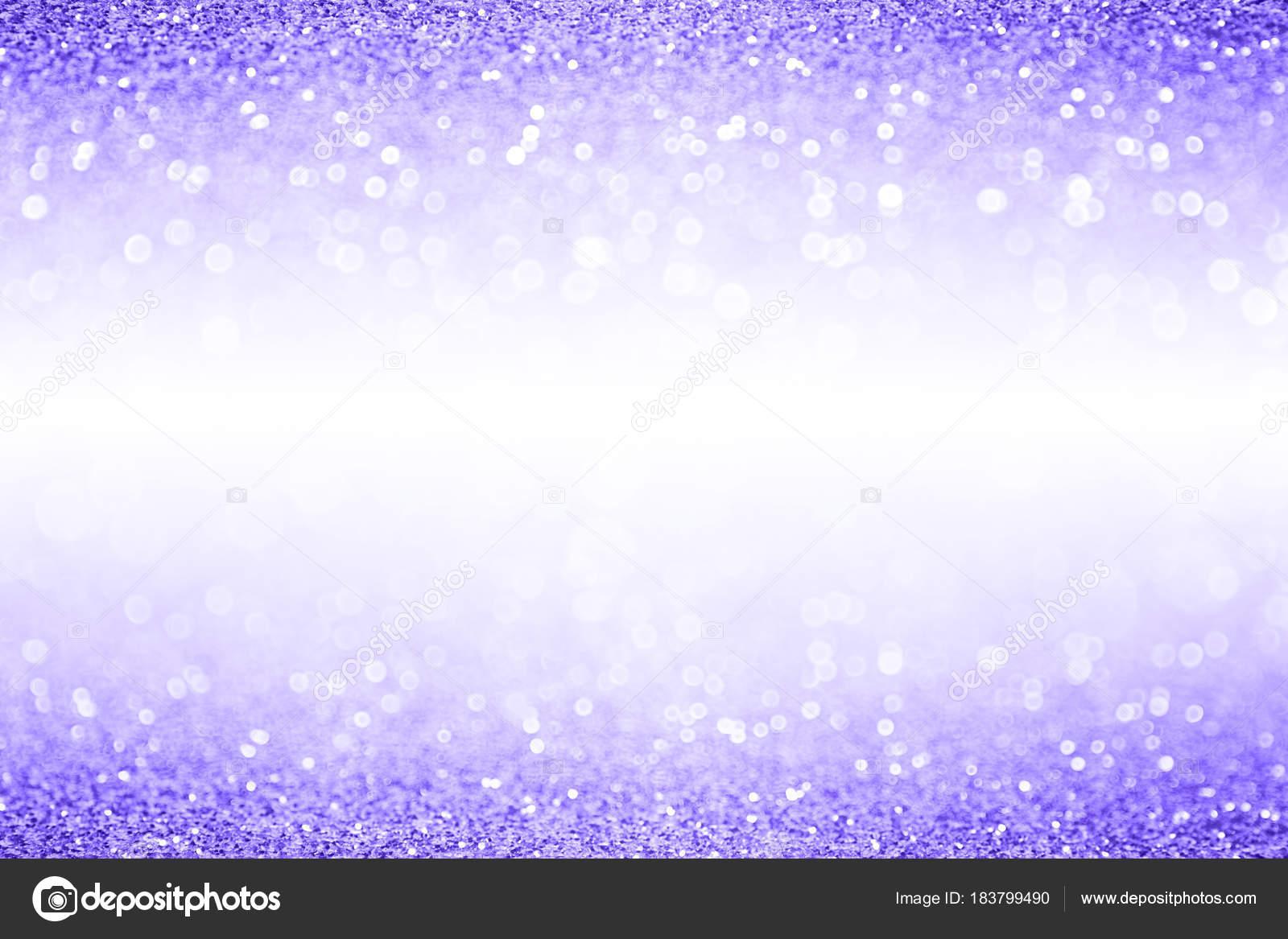 ラベンダーの紫のキラキラ輝きバナー背景ボーダー ストック写真
