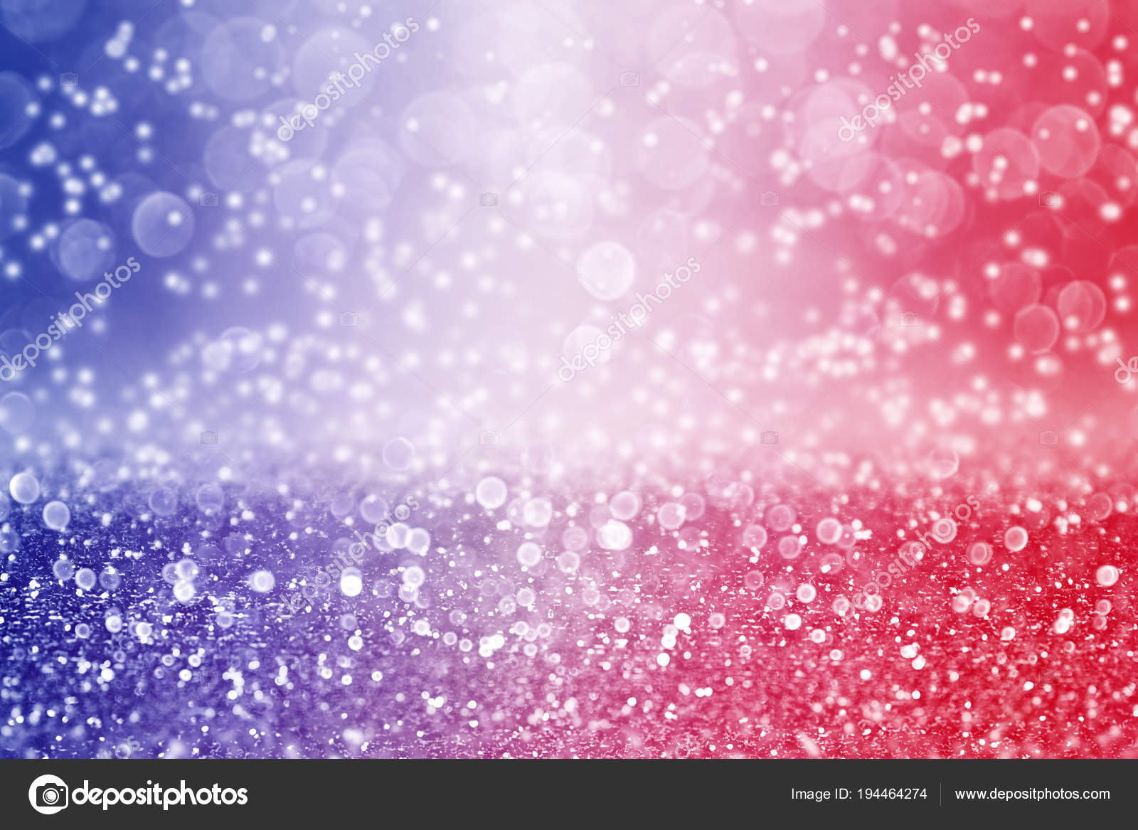 patriotic red white and blue color background sparkle stock photo