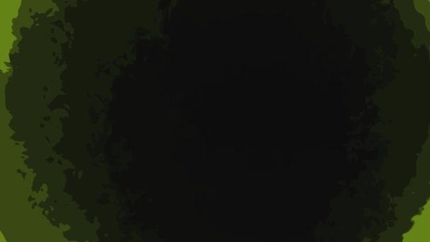 Fekete lyuk mozgásban zöld háttér Hd 1920x1080