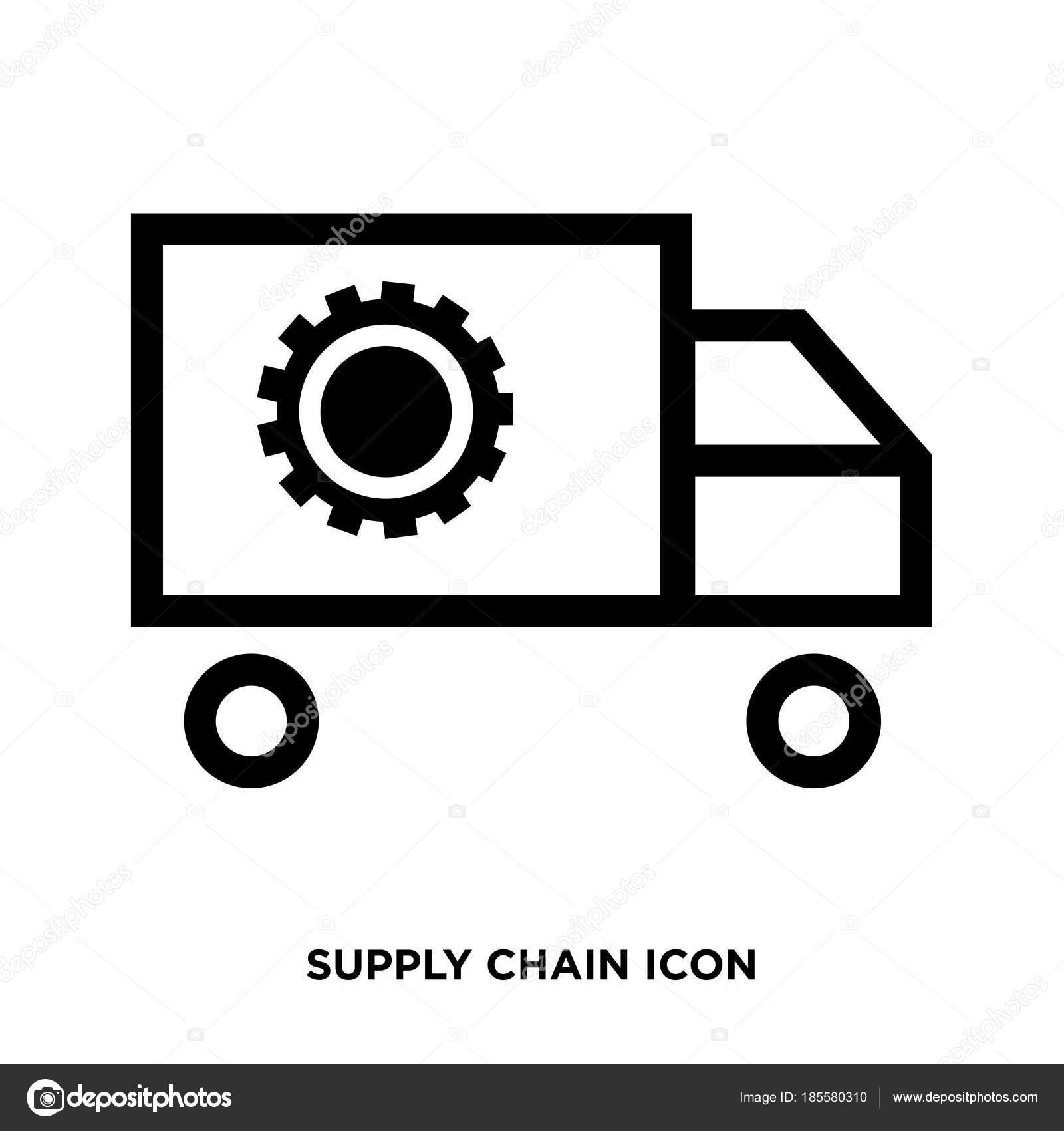 Supply Chain Symbol Stockvektor Provectorstock 185580310