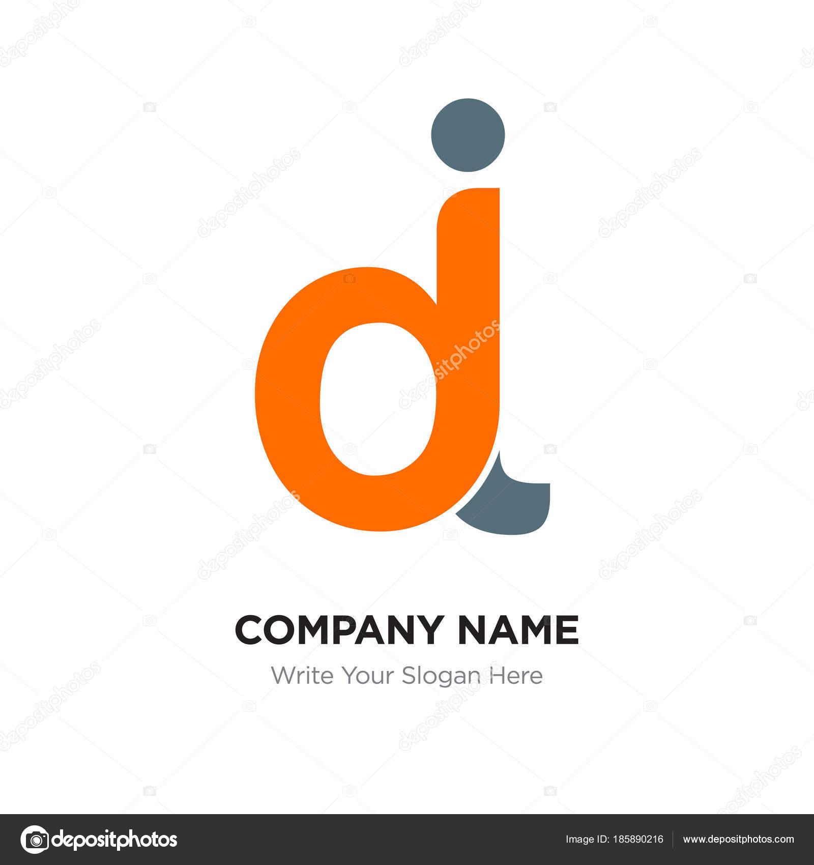 abstract letter dj jd logo design template black orange alph stock vector c provectorstock 185890216 https depositphotos com 185890216 stock illustration abstract letter dj jd logo html