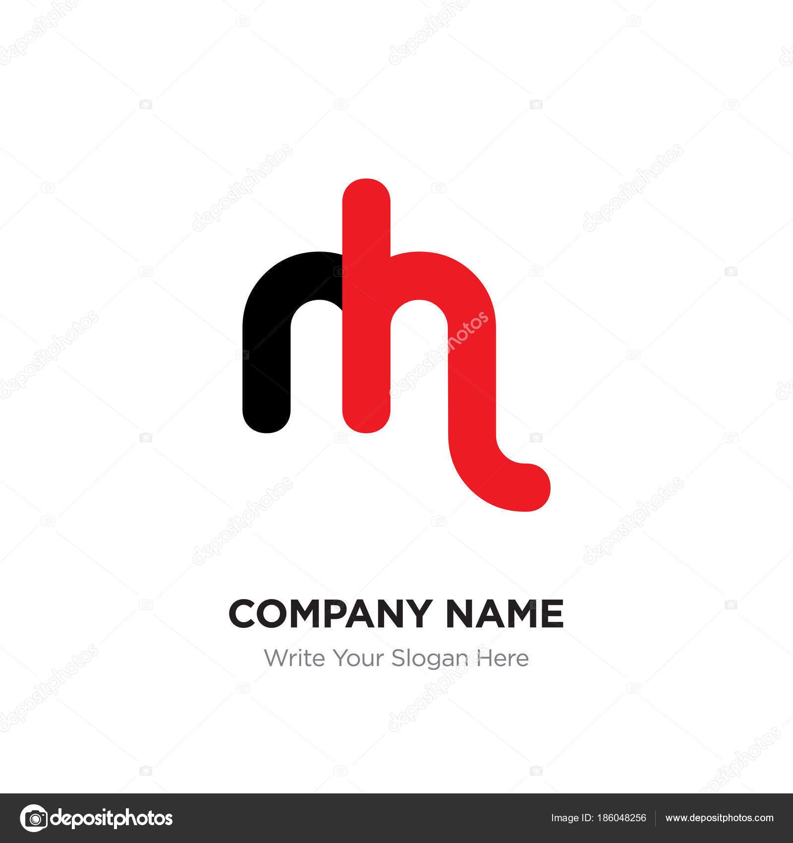 Resumo carta mh ou hm logotipo modelo de design black alfabeto em resumo carta mh ou hm logotipo modelo de design black alfabeto em vetor de stopboris Image collections