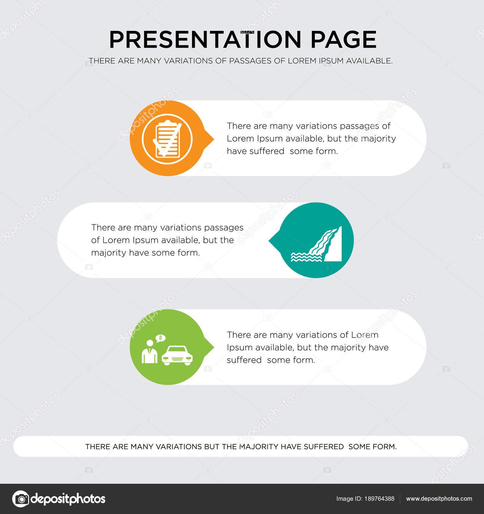Autohändler, Wasserfall, Spezifikation Präsentation Design-Vorlage ...
