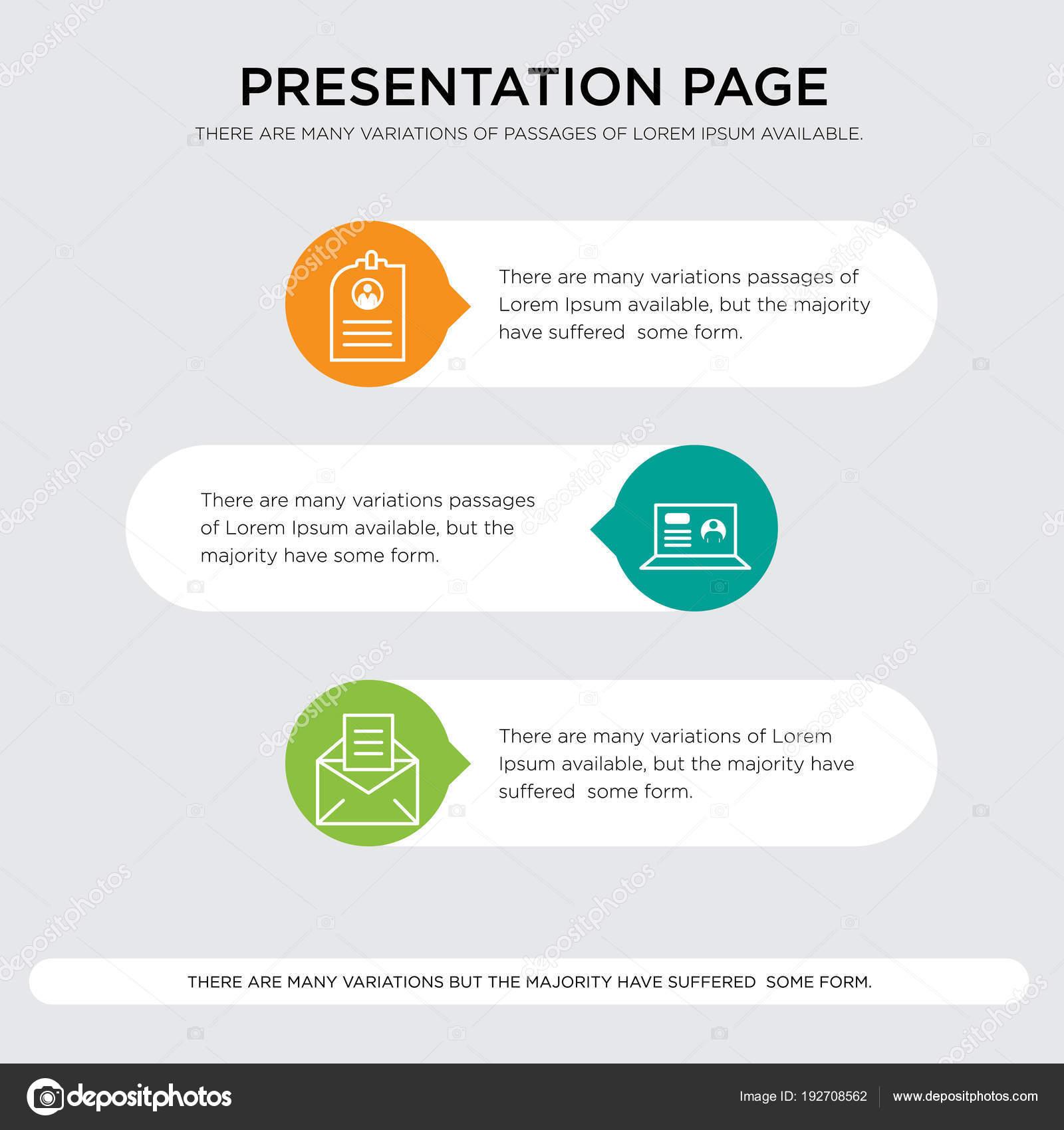 cv presentatie e mail, laptop, Cv presentatie — Stockvector © ProVectorStock