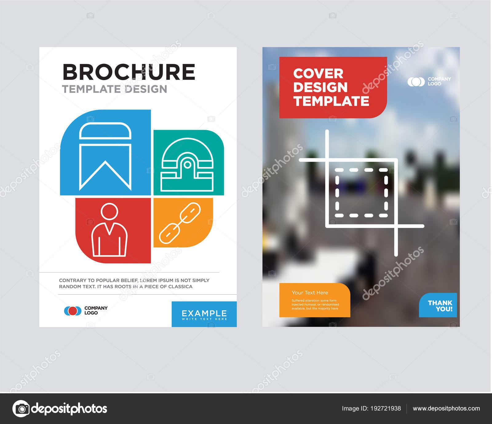 Werkzeug-Broschüre-Flyer-Design-Vorlage Zuschneiden — Stockvektor ...