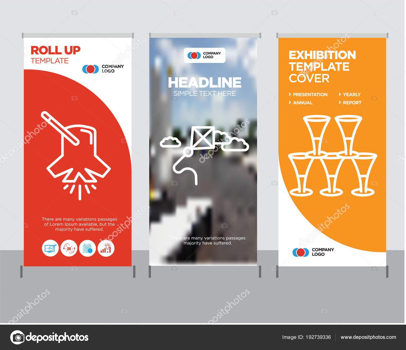 Gläser, Kite, Beleuchtung Roll-up — Stockvektor © urfandadashov ...