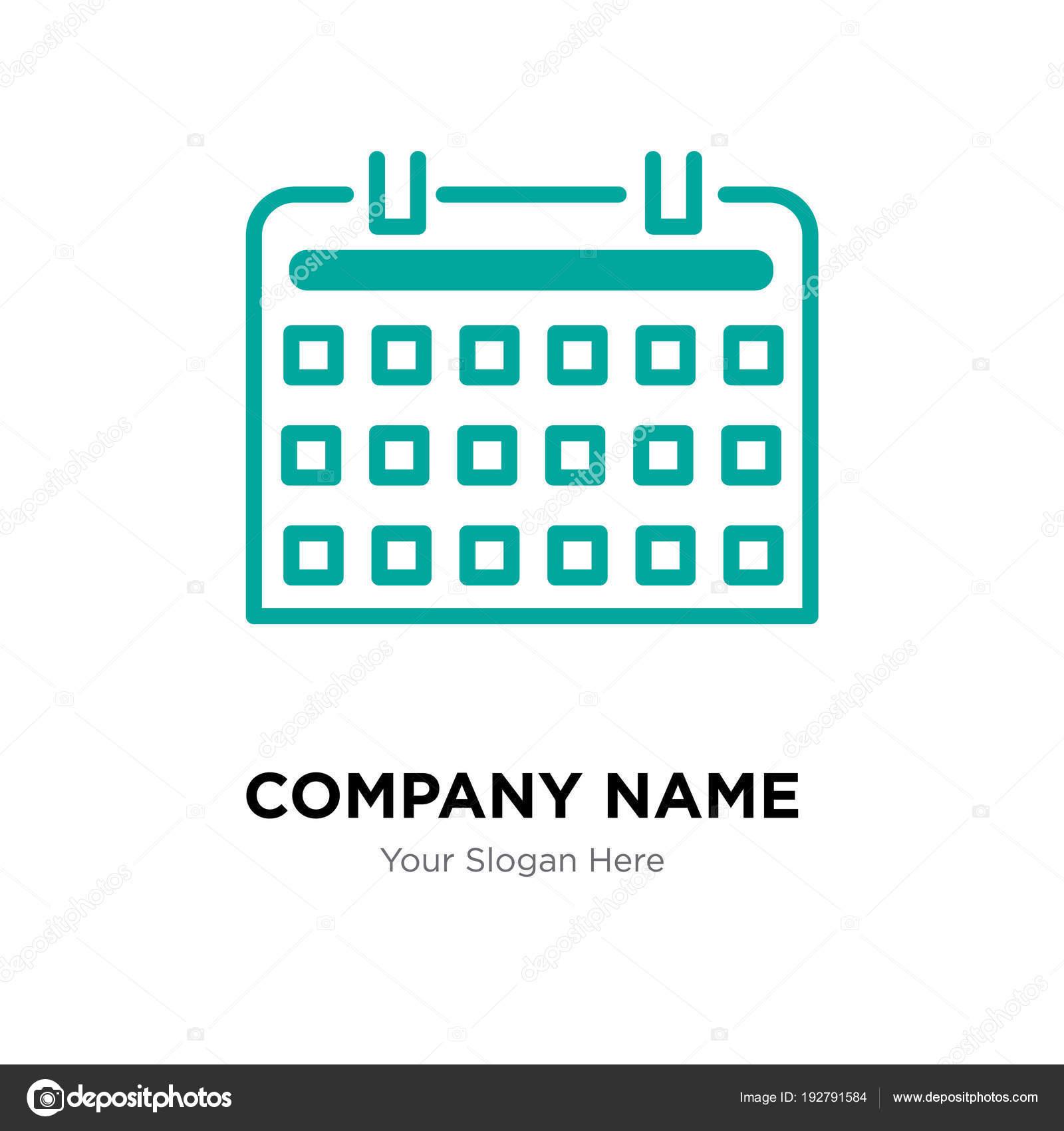 plantilla de diseño de logotipo de empresa de teclado — Vector de ...