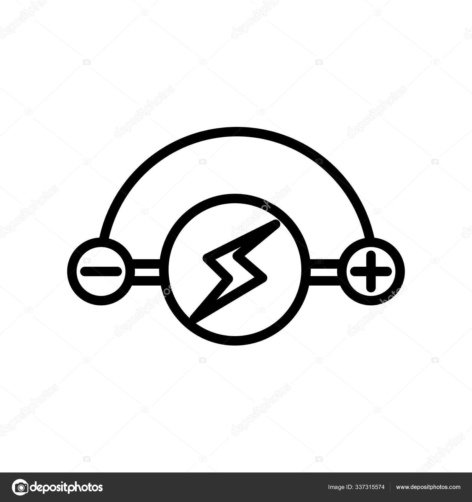 Bolt Icon Vector Sign And Symbol Isolated On White Background Stock Vector C Provectorstock 337315574