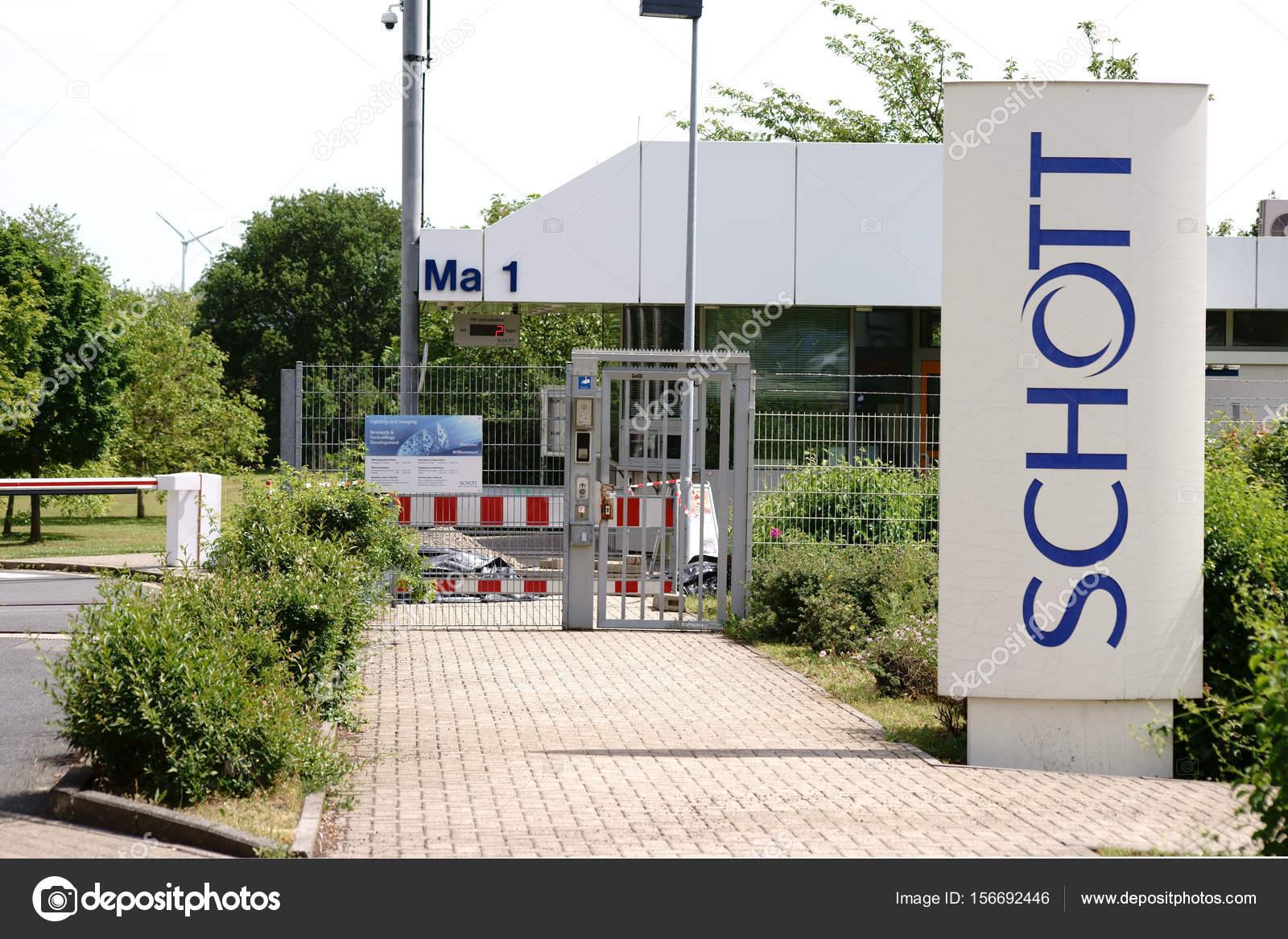 Schott Ag Mainz Stock Editorial Photo C Ginton 156692446