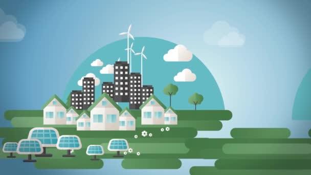 Eco City Animace Full HD